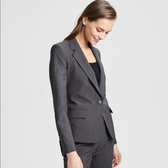 a2e7b2958d Theory | Stretch Wool Gabe N Jacket in Charcoal